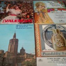 Discos de vinilo: LOTE 4 SINGLES MUSICA REGIONAL VALENCIANA. Lote 128965386