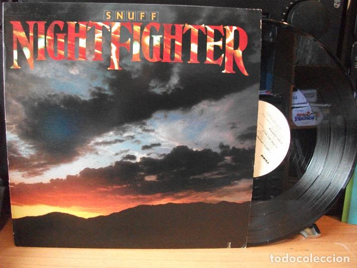 SNUFF NIGHTFIGHTER LP USA 1983 PDELUXE (Música - Discos de Vinilo - EPs - Pop - Rock - New Wave Extranjero de los 80)