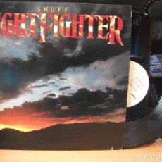 Discos de vinilo: SNUFF NIGHTFIGHTER LP USA 1983 PDELUXE. Lote 128974579