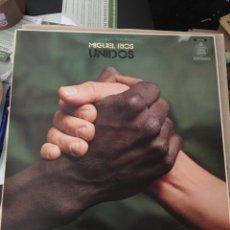 Discos de vinilo: MIGUEL RIOS-UNIDOS-1983-VINILO NUEVO. Lote 128978286
