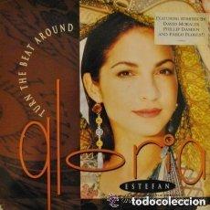 Discos de vinilo: GLORIA ESTEFAN - TURN THE BEAT AROUND - MAXI SINGLE. Lote 128984279