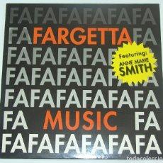 Discos de vinilo: FARGETTA FEATURING ANN MARIE SMITH - MUSIC / MY FIRST LOVE. Lote 128988311