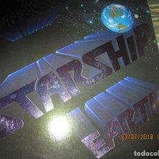 Discos de vinilo: JEFFERSON STARSHIP - EARTH LP - ORIGINAL U.S.A. - GRUNT RECORDS 1978 - CON FUNDA INT. ORIGINAL. Lote 128997767