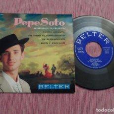Discos de vinilo: PEPE SOTO - CANTA ORIENTE +3. Lote 129006791