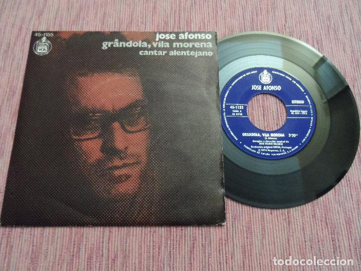 JOSE AFONSO - GRANDOLA / VILA MORENA (Música - Discos - Singles Vinilo - Cantautores Extranjeros)