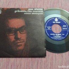 Discos de vinilo: JOSE AFONSO - GRANDOLA / VILA MORENA. Lote 129007015