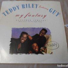 Discos de vinilo: TEDDY RILEY FEAT. GUY - MY FANTASY. Lote 129007991