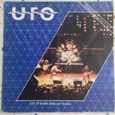 Disques de vinyle: UFO SINGLE EP LET IT RAIN 1982 SPAIN. Lote 129009291