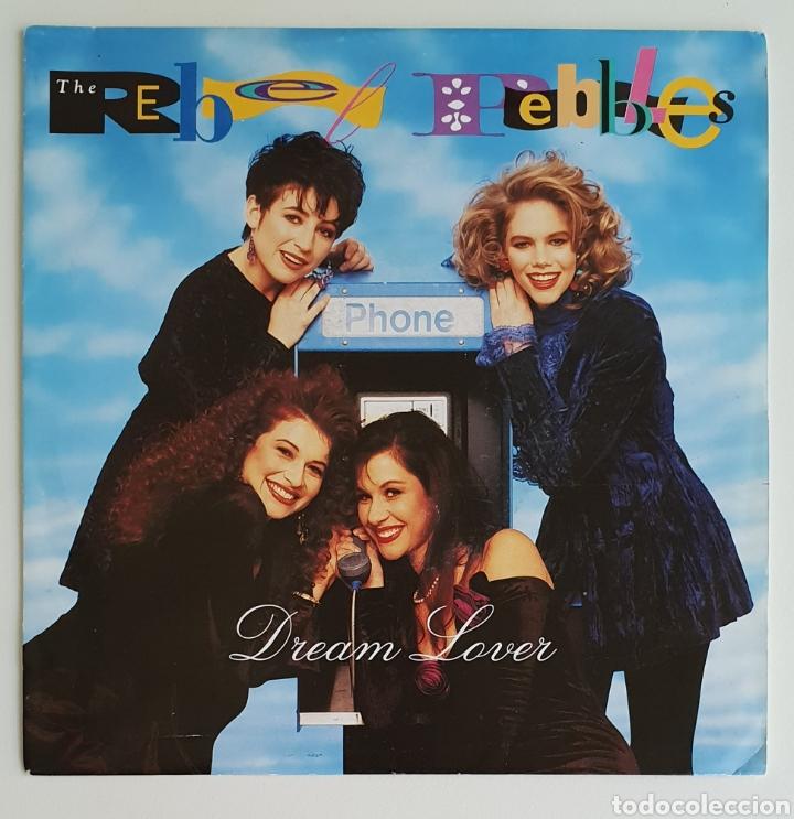 SINGLE THE REBEL PEBBLES DREAM LOVER (Música - Discos - Singles Vinilo - Pop - Rock Extranjero de los 90 a la actualidad)
