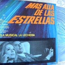 Discos de vinilo: LAURA VALENZUELA Y JOAQUIN PRAT -MAS ALLA DE LAS ESTRELLAS -MINI LP 1970 -BUEN ESTADO. Lote 129020263