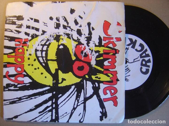 SKIMMER - HAPPY - EP INGLES 33 1995 - CRACKLE (Música - Discos de Vinilo - EPs - Punk - Hard Core)