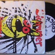 Discos de vinilo: SKIMMER - HAPPY - EP INGLES 33 1995 - CRACKLE. Lote 129022879