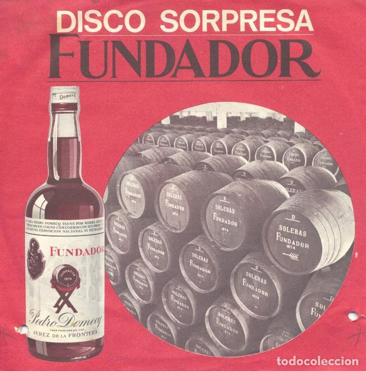 DISCO SORPRESA FUNDADOR: ALEGRE NAVIDAD. VILLANCICOS (Música - Discos de Vinilo - EPs - Música Infantil)