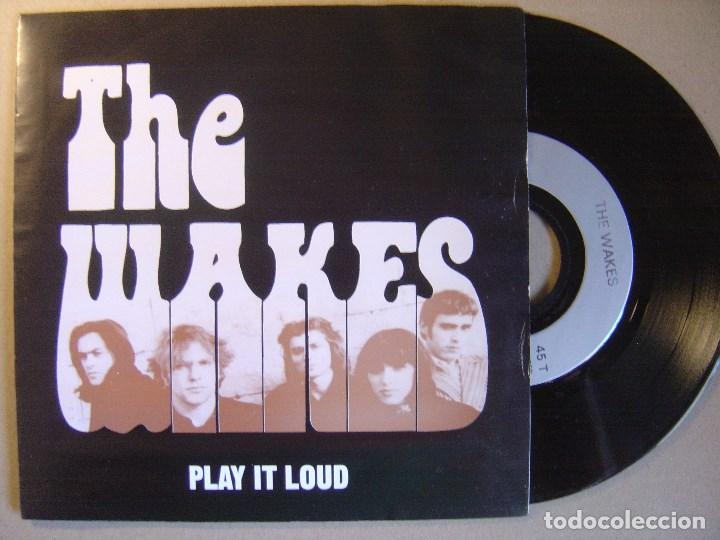 THE WAKES - PLAY IT LOUD - EP FRANCES 1993 - CINELUX (Música - Discos de Vinilo - EPs - Pop - Rock Internacional de los 90 a la actualidad)