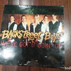 Discos de vinilo: BACKSTREET BOYS-WE'VE GOT IT GOIN' ON.MAXI. Lote 129038503