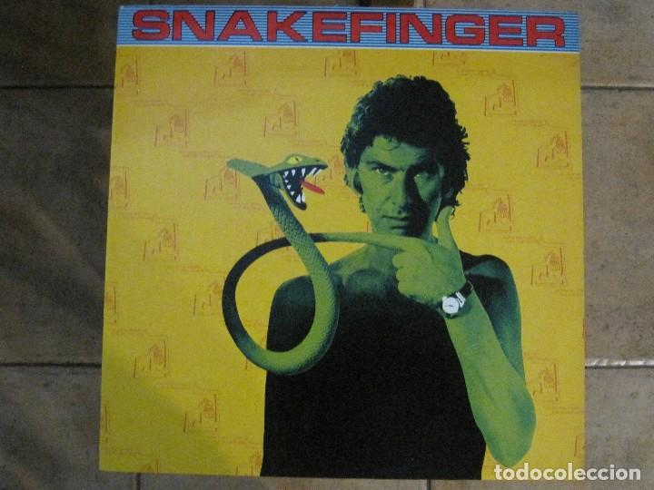 SNAKEFINGER - CHEWING HIDES THE SOUND (THE RESIDENTS) '87 THE CRIPTIC CORPORATION. (Música - Discos - LP Vinilo - Electrónica, Avantgarde y Experimental)
