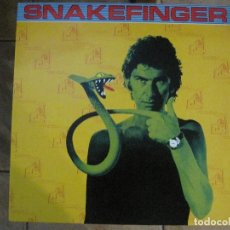 Discos de vinilo: SNAKEFINGER - CHEWING HIDES THE SOUND (THE RESIDENTS) '87 THE CRIPTIC CORPORATION.. Lote 129038895