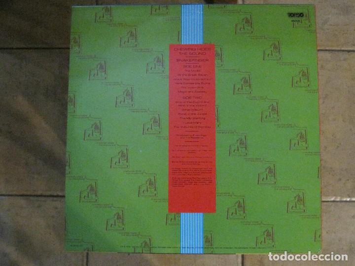 Discos de vinilo: SNAKEFINGER - CHEWING HIDES THE SOUND (THE RESIDENTS) 87 THE CRIPTIC CORPORATION. - Foto 2 - 129038895