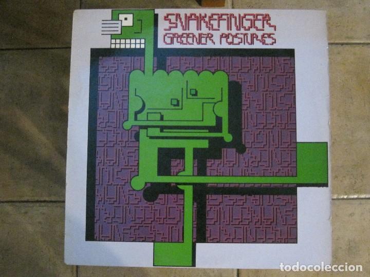 SNAKEFINGER - GREENER POSTURES (THE RESIDENTS) '80 RALPH RECORDS. (Música - Discos - LP Vinilo - Electrónica, Avantgarde y Experimental)