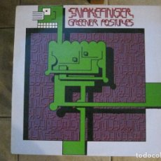 Discos de vinilo: SNAKEFINGER - GREENER POSTURES (THE RESIDENTS) '80 RALPH RECORDS.. Lote 129038975