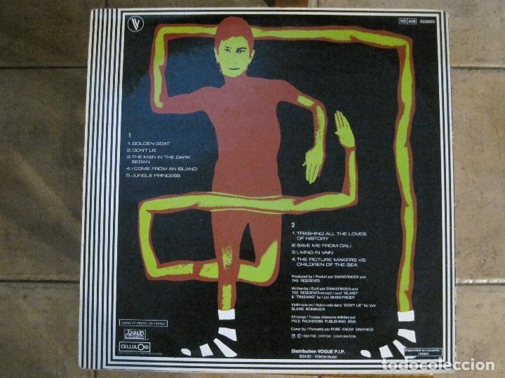 Discos de vinilo: SNAKEFINGER - GREENER POSTURES (THE RESIDENTS) 80 RALPH RECORDS. - Foto 2 - 129038975