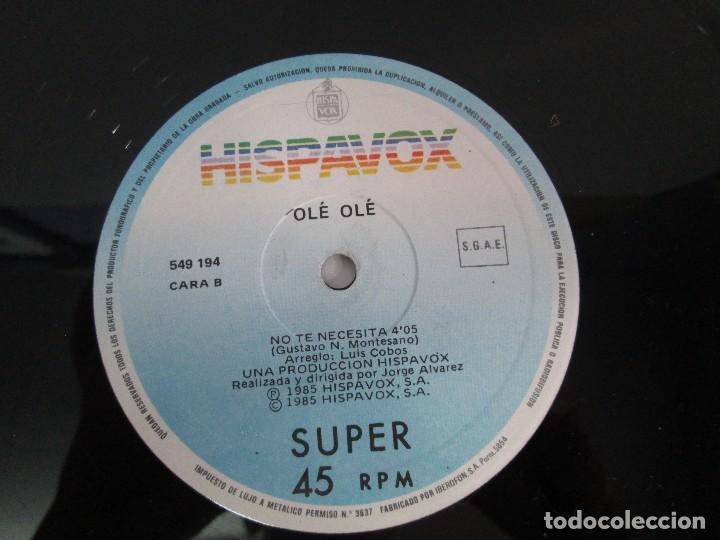 Discos de vinilo: OLE OLE. LILI MARLEN. MAXI SINGLE VINILO. HISPAVOX 1985. VER FOTOGRAFIAS ADJUNTAS - Foto 7 - 129042031