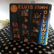 Discos de vinilo: LP ALEMAN MUY BUEN ESTADO ELVIS IN HOLLYWOOD AÑO 1976. Lote 129053627