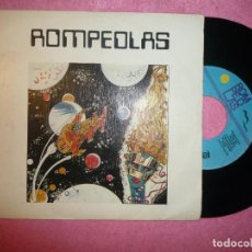 Discos de vinilo: ROMPEOLAS VUELO EXPERIMENTAL 1984 SINGLE 7 SPAIN PRESS (EX-/EX-) S. Lote 129055719
