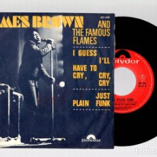 Discos de vinilo: SINGLE JAMES BROWN AND THE FAMOUS FLAMES. POLYDOR.. Lote 129070160