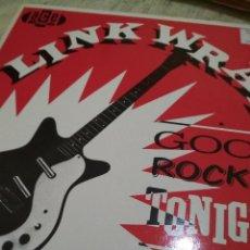 Discos de vinilo: LINK WRAY ROCKABILLY ROCK AND ROLL. Lote 129070263