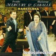 Discos de vinilo: FREDDIE MERCURY Y MONTSERRAT CABALLÉ - BARCELONA - MAXI-SINGLE 1987. Lote 129077479