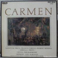 Discos de vinilo: BIZET - CARMEN (CAJA 2 LPS CON LIBRETO RCA ESPAÑA) VINILOS COMO NUEVOS. Lote 129086251