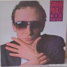 Discos de vinilo: GRAHAM PARKER AND THE SHOT - STEADY NERVES ELEKTRA PROMOCIONAL - 1985. Lote 129086679