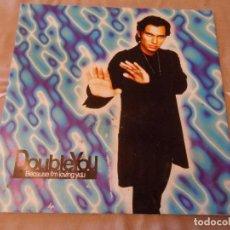 Discos de vinilo: DOUBLE YOU - BECAUSE I'M LOVING YOU. Lote 129088463