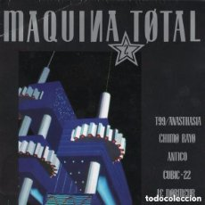 Discos de vinilo: MAQUINA TOTAL 2 - SINGLE-SIDED PROMO SPAIN 1991. Lote 137125617