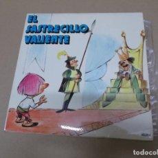 Discos de vinilo: EL SASTRECILLO VALIENTE (EP) VOCES Y EFECTOS ESPECIALES AÑO 1971. Lote 129104663