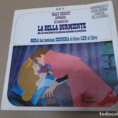 Discos de vinilo: LA BELLA DURMIENTE (EP) CANCIONES DE LA BANDA SONORA DE LA PELICULA EN CASTELLANO AÑO 1968 – DISCO +. Lote 129107311