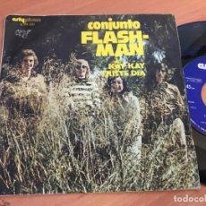 Discos de vinilo: CONJUNTO FLASH-MAN (KAY-KAY / TRISTE DIA) SINGLE ESPAÑA 1972 (EPI14). Lote 129109667