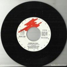 Discos de vinilo: DUNCAN DHU SINGLE PROMOCIONAL JARDIN DE ROSAS 1987 SOLO VINILO,PERO EN MUY BUEN ESTADO. Lote 129111751