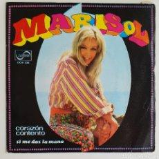 Discos de vinilo: SINGLE MARISOL TENGO EL CORAZÓN CONTENTO. Lote 129118584