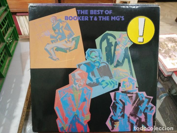 BOOKER T. & THE MG´S - THE BEST OF BOOKER T & THE MG´S - LP. DEL SELLO ATLANTIC DE 1984 (Música - Discos de Vinilo - EPs - Reggae - Ska)