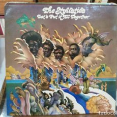 Discos de vinilo: THE STYLISTICS - LET´S PUT IT ALL TOGETHER - LP. DEL SELLO AVCO 19675. Lote 129142615