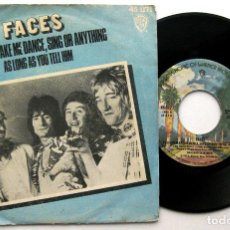 Discos de vinilo: FACES - YOU CAN MAKE ME DANCE, SING OR ANYTHING - SINGLE WARNER BROS 1975 BPY. Lote 129151303