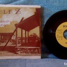 Discos de vinilo: LOS DOBLE Z - RIVER WEST / CHEYENNE 7'' RARO SINGLE SELLO VICTORIA AÑO 1974 (GRUPO ESTUDIO). Lote 129156891