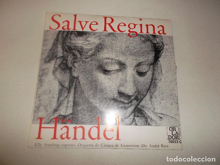 SALVE REGINA HANDEL ORLADOR CIRCULO DE ECTORES 1965 (Música - Discos - Singles Vinilo - Clásica, Ópera, Zarzuela y Marchas)