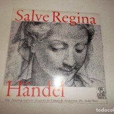 Discos de vinilo: SALVE REGINA HANDEL ORLADOR CIRCULO DE ECTORES 1965. Lote 129164187