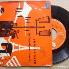 Discos de vinilo: TRIO RAISNER - IN NAPOLI UND PARIS - EP ALEMAN 1956 - POLYDOR. Lote 129172771