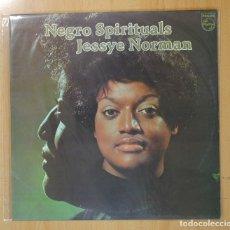 Discos de vinilo: JESSYE NORMAN - NEGRO SPIRITUALS - LP. Lote 129173424