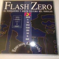 Discos de vinilo: FLASH ZERO RAYA ESPAÑA 21 EDICION LIMITADA EBM 1990. Lote 129174511