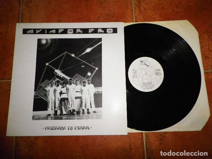 AVIADOR DRO PROGRAMA EN ESPIRAL MAXI SINGLE VINILO AÑO 1982 CONTIENE 4 TEMAS COMO NUEVO TECHNO POP (Música - Discos de Vinilo - Maxi Singles - Grupos Españoles de los 70 y 80)